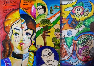 Results of National Online Drawing and Painting Competition August 2021 - Celebration of Independence DayResults of National Online Drawing and Painting Competition August 2021 - Celebration of Independence Day