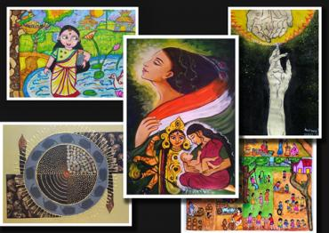 Result of  Nov  and  Dec 2020 Online National Drawing and Painting Competition – (Save girl child)