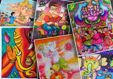 Result - National Online Drawing and Painting Competition August 2020 (Ganesha Chaturthi)