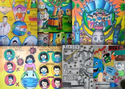 Results of District Online Art Contest (Drawing and Painting Competition) June – July 2021