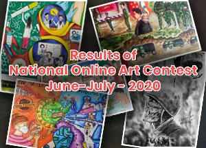 Results of National Online Arts Contest June-July 2020