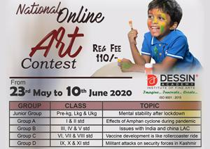 National Online Art Contest May-June 2020