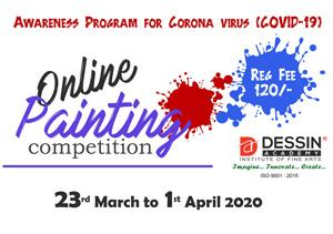 National Online Painting Competition March-April 2020