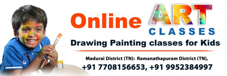 Online Drawing and Painting classes in Madurai, Paramakudi