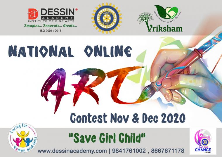 National Online Drawing, Painting or Art Competition in india