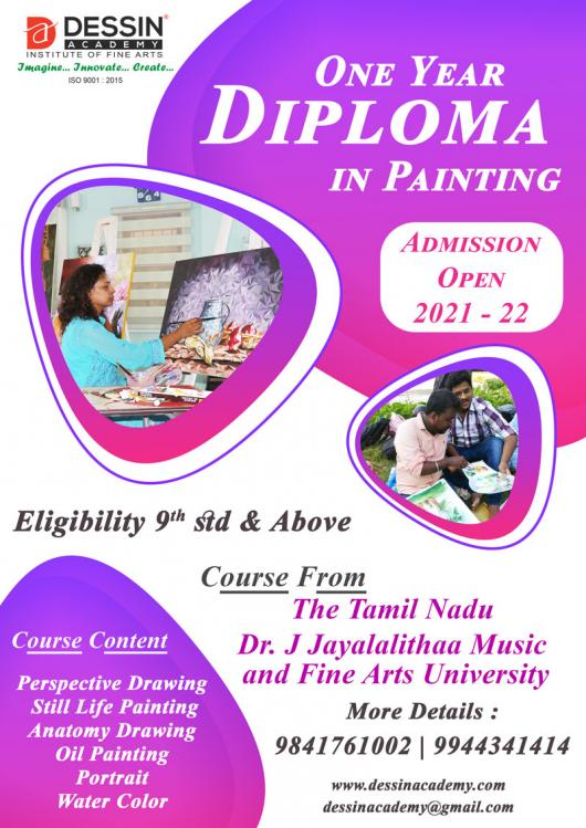 Online Diploma in Painting Classes in Chennai