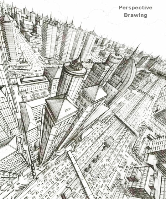 perspective drawing, Dessin Academy